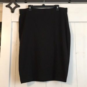 Universal Standard Plus Size Black Skirt